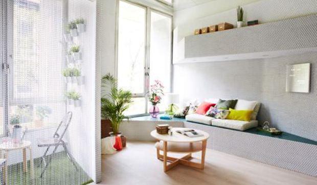 Vivir en un apartamento de 36 m2